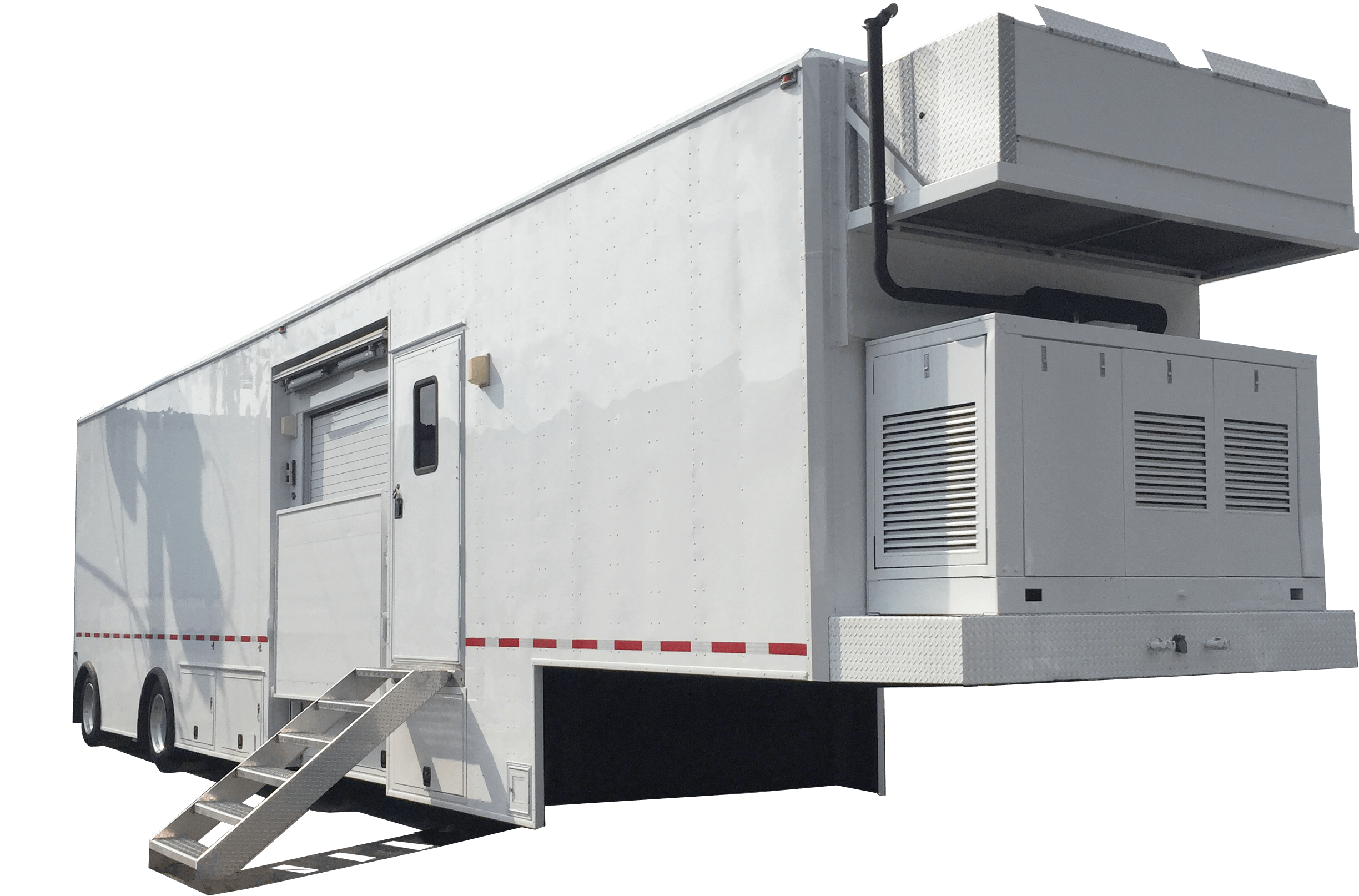 Mobile MRI Rental Trailer - Mobile MRI Machine Exterior