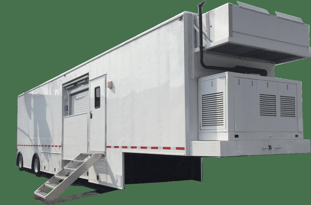 Mobile MRI Rental Trailer - Mobile MRI Machine Exterior