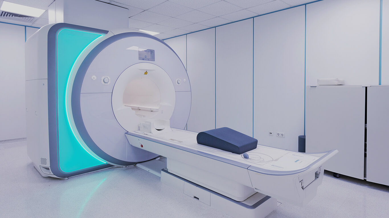 Mobile MRI Rental Interior - Siemens Mobile MRI Machine